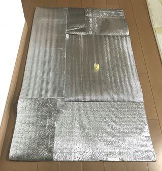 巨大な自作レフ板